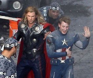captain america and thor image