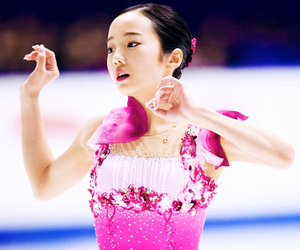 figure skating, romeo and juliet, and marin honda image