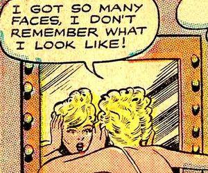 comic, vintage, and retro image