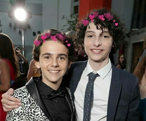 finn wolfhard and jack grazer image