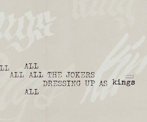 album, kings, and Lyrics image