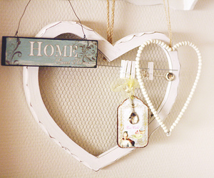 home and love image