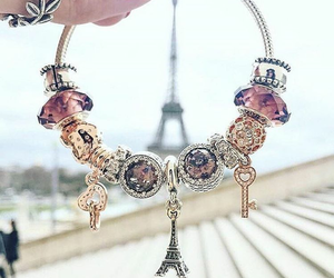 accessories, bracelet, and pandora image
