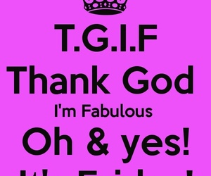 fabulous, friday, and heart image