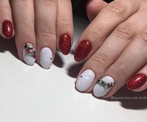 christmas, design, and nails image