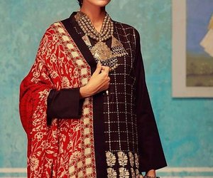indian clothing, pakistani winter clothing, and pakistani winter dress image