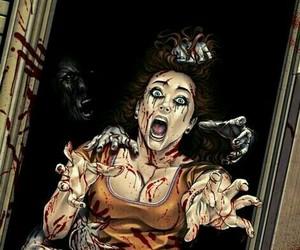 ilustraciones, terror, and zombies image