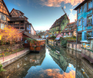 autumn, beautiful, and europe image