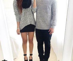 couple, fashion, and matching image