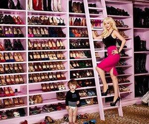 shoes, christina aguilera, and closet image