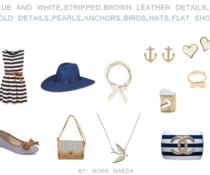 anchor, ballet shoes, and big hat image