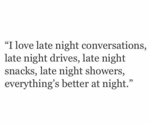 night, quotes, and love image