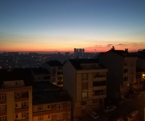 day, night, and sunset image