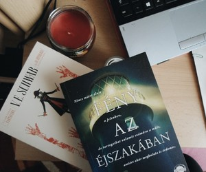 bibliophile, cozy, and books image