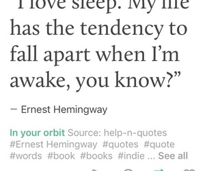 art, ernest hemingway, and quotes image