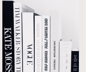 books, black, and white image