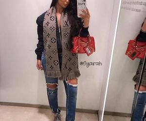 bag, Balenciaga, and clothes image
