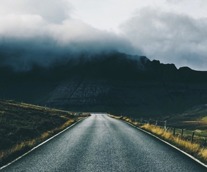 fog, road, and view image