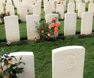 memorial, ypres, and tyne cott image