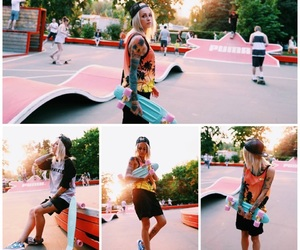 picture, skatergirl, and style image