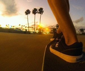 picture, skate, and skateboard image