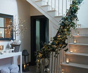 christmas, decoration, and lights image