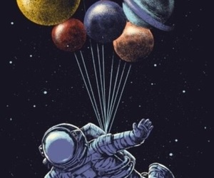 astronaut, wallpaper, and space image