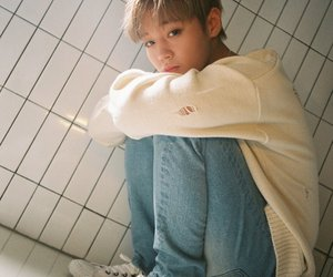 cute, wanna one, and wink boy image
