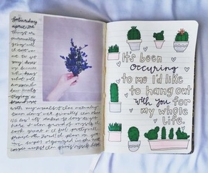 aesthetic, sketch, and writing image