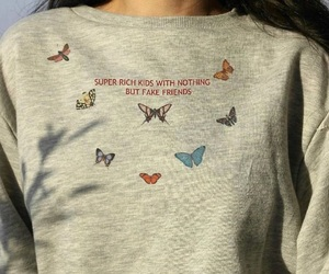 butterflies and fashion image