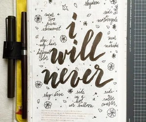 colour, diary, and goals image