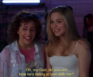 90s, Clueless, and film image