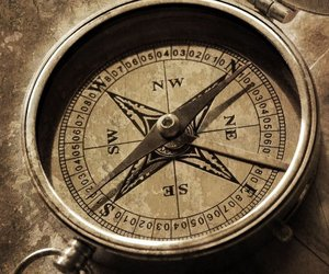 compass and photography image