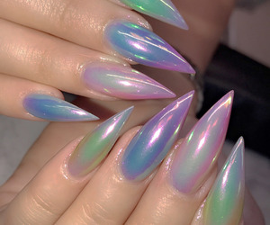 aesthetic, nails, and fashion image