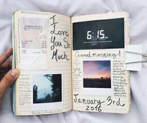 book, journal, and diary image