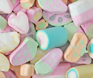 candies, kawaii, and marshmallow image