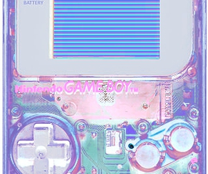 gameboy, pastel, and game image