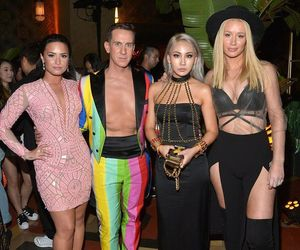 demi lovato, iggy azalea, and CL image