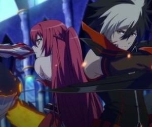 elesis, elsword, and anime image