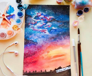 art, color, and painting image