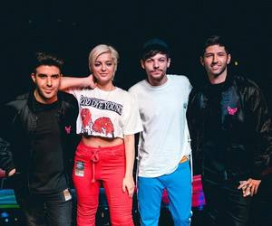 louis tomlinson, bebe rexha, and digital farm animals image