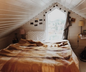 autumn, bedroom, and colors image