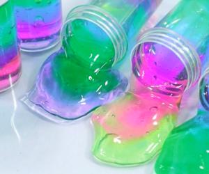 slime and pink image