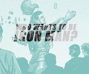 comics, iron man, and Marvel image