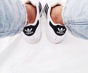 adidas, denim, and style image