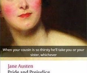 austen, funny, and jane image