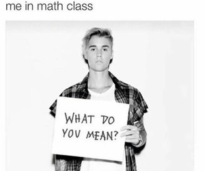funny, justin bieber, and school image