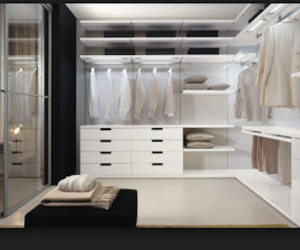 dressing, dressing room, and rooms image