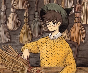 art and brooms image