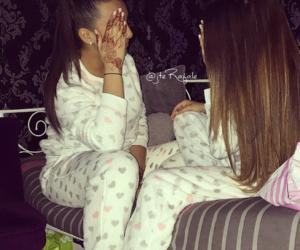 friends, girls, and pyjama image